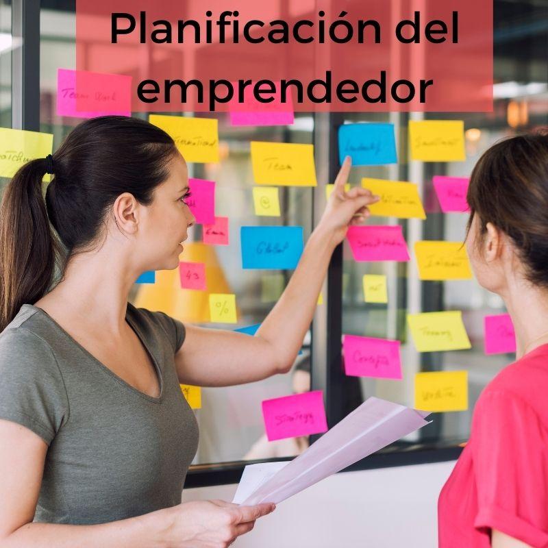 ¿Cómo influye la organización y la planificación en la productividad del emprendedor?